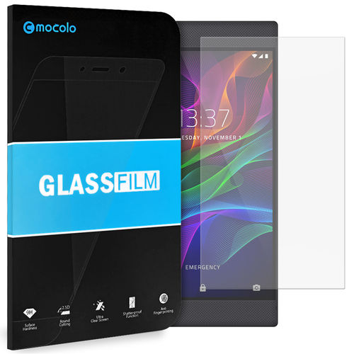 Mocolo 9H Tempered Glass Screen Protector for Razer Phone - Clear